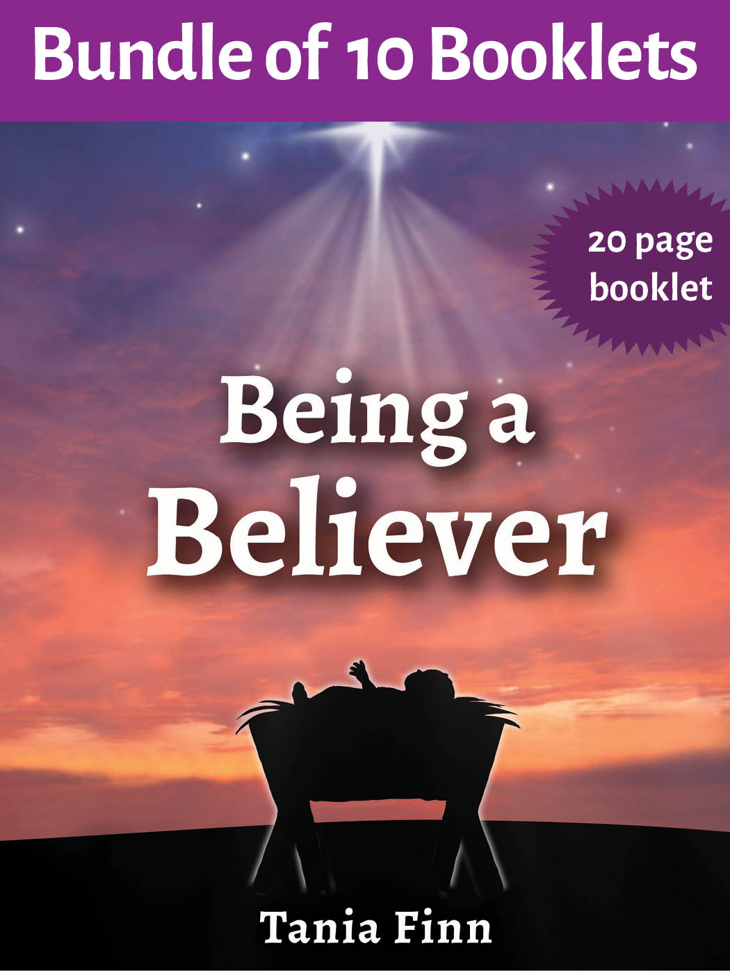 Bundle of 10 – Being a Believer – Physical Booklet (2019)