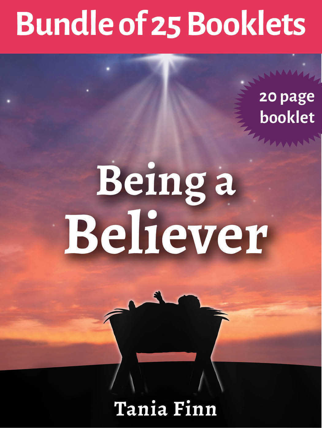 Bundle of 25 – Being a Believer – Physical Booklet (2019)