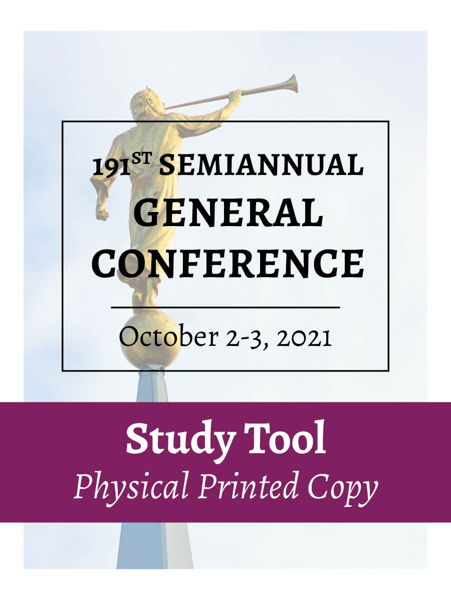 Physical Printed Copy – October 2021 – General Conference Study Tool